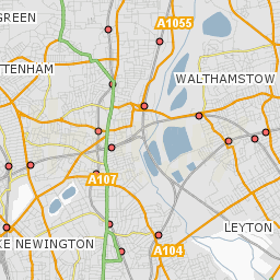 Areas In London Map.Conservation Areas Haringey Council